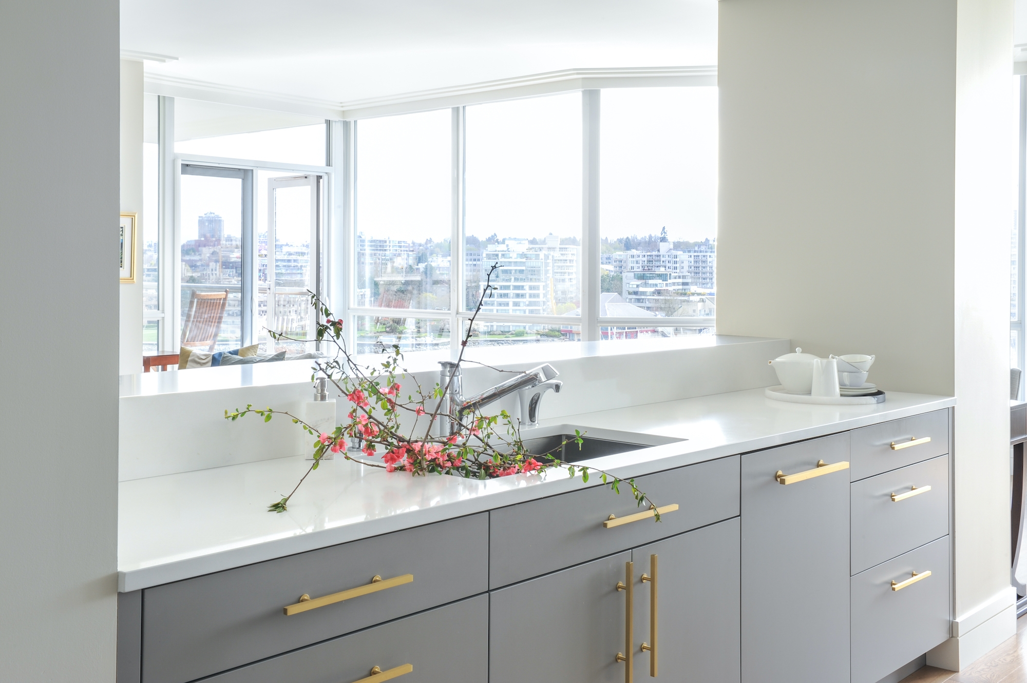 Yaletown Condo kitchen other side