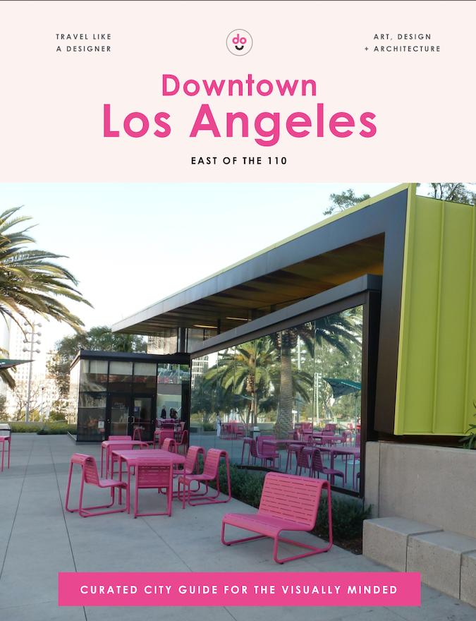 Los Angelas guide cover East 110