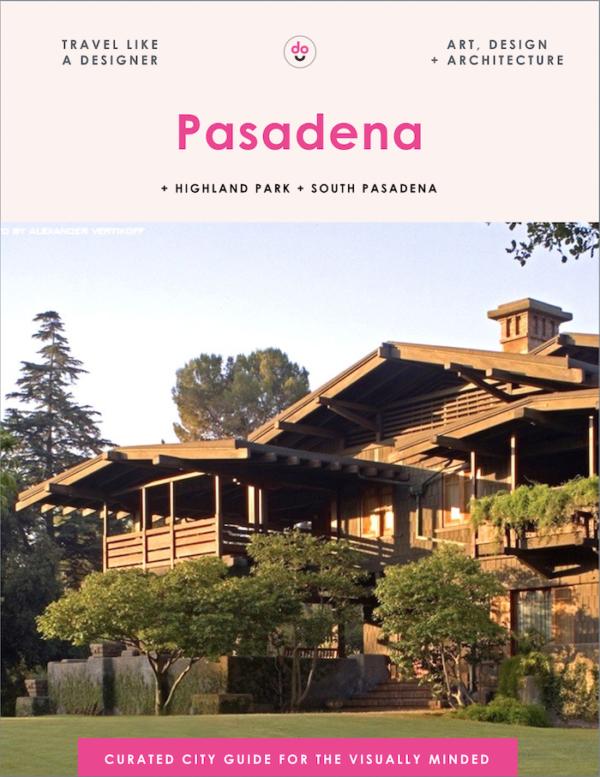 Pasadena guide